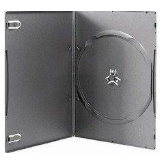 5MM DVD CASE SINGLE BLACK
