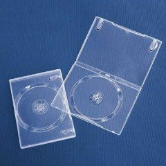 14mm DVD Case Single Super Clear 20pcs/pack
