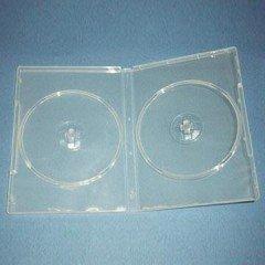 14mm DVD Case Double Super Clear 20pcs/pack