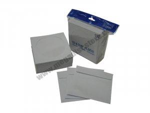 CD/DVD Paper Sleeves White 500 Pack