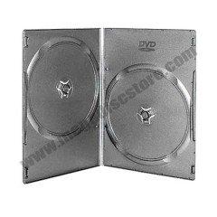 5MM DVD CASE DOUBLE BLACK