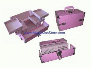 Stylish Make Up Case Pink Free Shipping