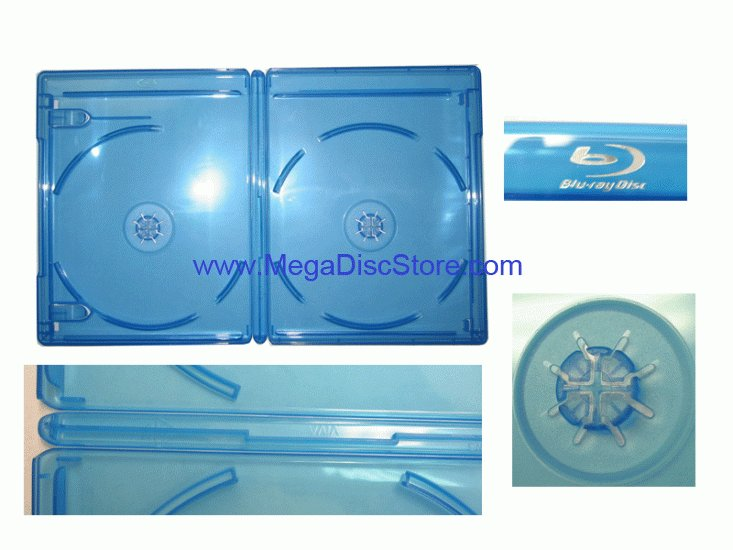 Blu-ray Double Case VIVA ELITE High Quality 20 Pack