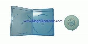 6mm Slim Line Viva Elite Blu-ray Double Case Free Shipping 12 Pack