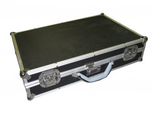 Black Aluminum Multi purpose Case For Tool/Camera/Hardware and More Ship to CANADA&USA