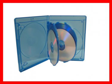 VIVA ELITE Hold 4 Discs Blu-Ray replacement case 5 Pack (4 Tray) Free Shipping