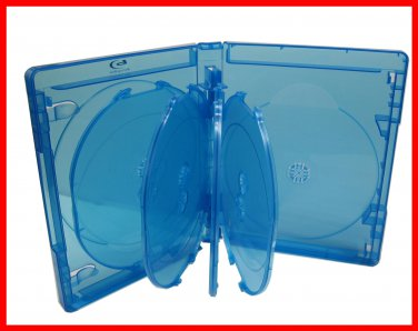 2 Pk Blu-ray Multi 9 Tray (Holds 9 Discs) Viva Elite Replacement Case (Pack of 2)