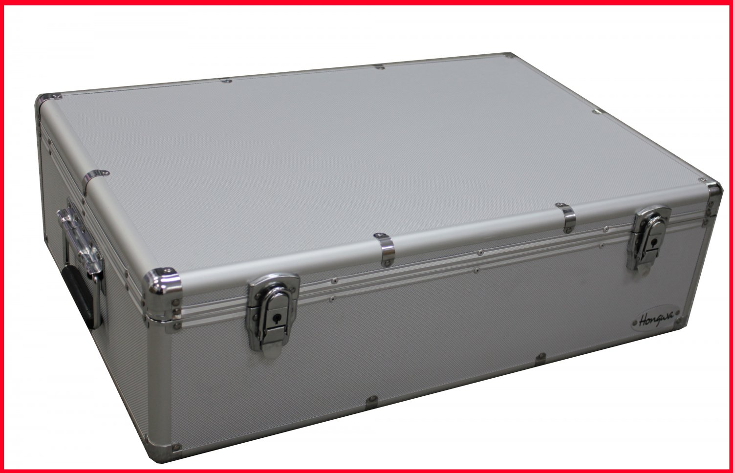 1000 CD DVD PREMIUM ALUMINUM STORAGE CARRYING CASE SILVER FREE SHIPPING
