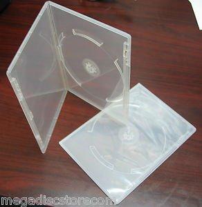 10 Pk Viva Brand Premium 7mm Slim Size DVD Case Single Super Clear 1 Disc Box