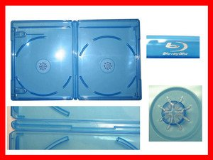 VIVA ELITE Blu-Ray Case Double  20 Pk Lower shipping cost to Canada customers