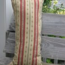 Red n green tiny flower pillow