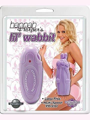 Hannah Harper Lil' Wabbit - Purple