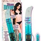 Silicone Diver Vibrator - G Contoured