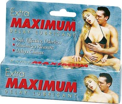 Extra Maximum Delay Lube - Large