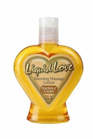 Liquid Love - Peaches n Cream 4 oz.