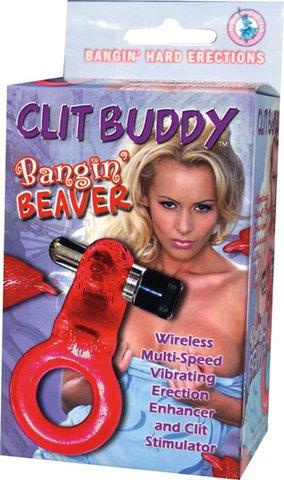 Clit Buddy Bangin' Beaver - Red