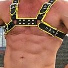 Leather Black/Yellow Harness