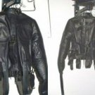 Leather Straight Jacket - Medium