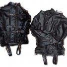Leather Bondage Straight Jacket -3X