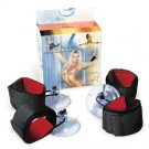 Wrist Fantasy Cuffs With Suction Cups
