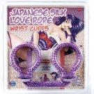 Japanese Silk Love Rope Wrist Cuffs