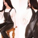 Leather Hot Fetish Working Overall - Medium