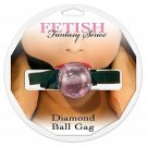 Diamond Ball Gag - Pink