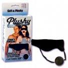Plushy Gear Blindfold With Gag