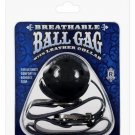 Breathable Ball Gag With Black Collar