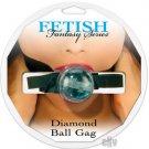 Diamond Ball Gag - Blue
