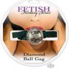 Diamond Ball Gag - Clear
