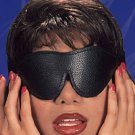 All Leather Black Blindfold