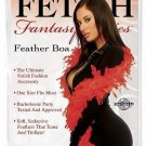 Fetish Fantasy Feather Boa Red