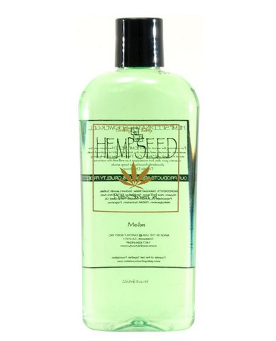 8 oz Melon Hemp Seed Shower Gel