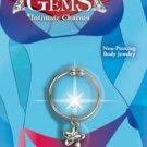 Precious Gems Belly Ring Silver Star