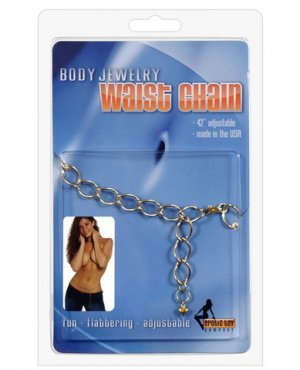 Waist Chain Ornate - Gold