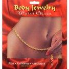 Waist Chain Roped Chain - Gold