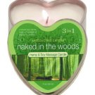 Edible Naked In The Woods Candle 4 oz
