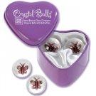 Crystal Balls Butterflys