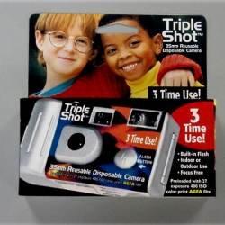 Triple Shot 35mm Reusable Camera