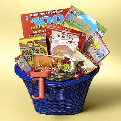 Kids Busy Basket Gift Basket