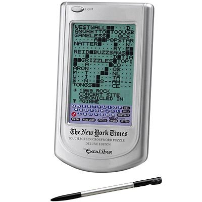 Touch-Screen Crossword Puzzle