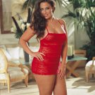 Red Diamond Lace Babydoll