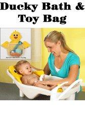 Ducky Bath & Toy Bag