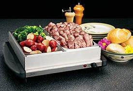 Deni Dual Buffet Server Warming Tray