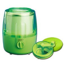 Deni Automatic Ice Cream Maker with Candy Crusher Lime