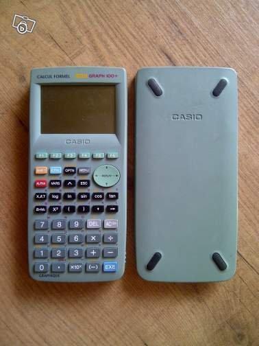 calculatrice Casio Graph 100+ 1MO Calculator Graphique Scientifique Tri Lingual