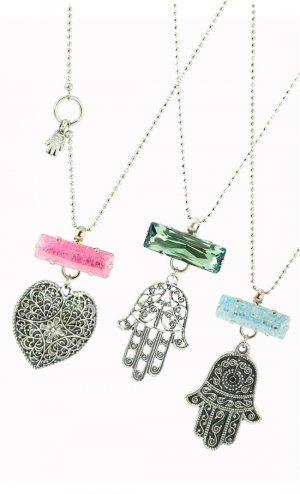 Hamsa necklace