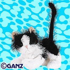 Black & White Cat Webkinz