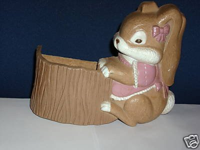 Baby Bunny Planter Pink